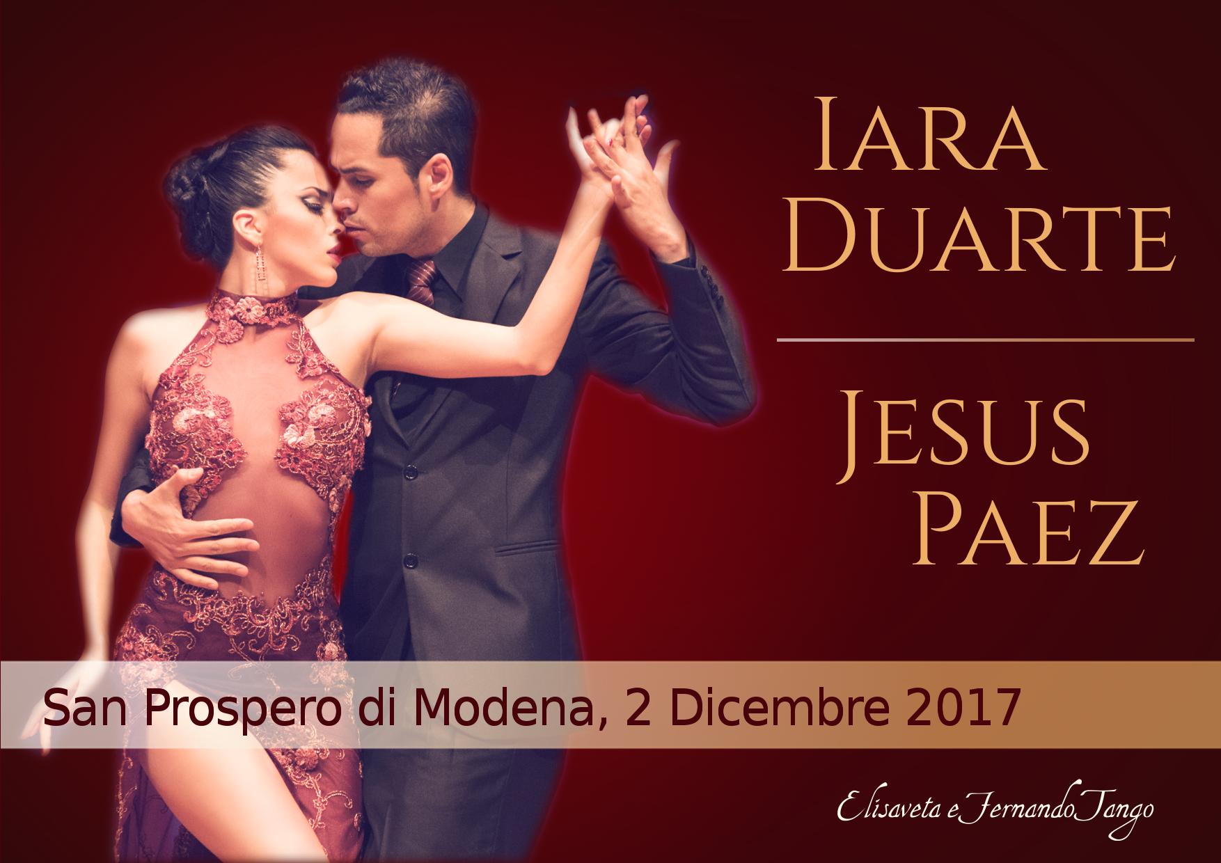 Jesus Paez e Iara Duarte